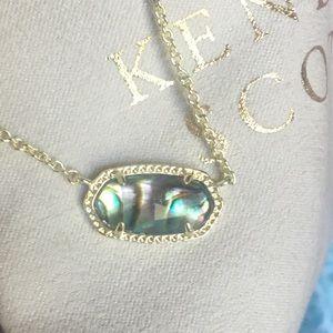 Kendra Scott Elisa Necklace ~ Abalone Shell